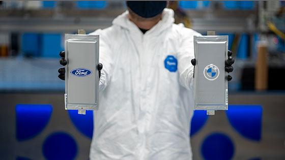 ב.מ.וו ופורד משקיעות 130 מיליון דולר בפיתוח סוללות מצב מוצק