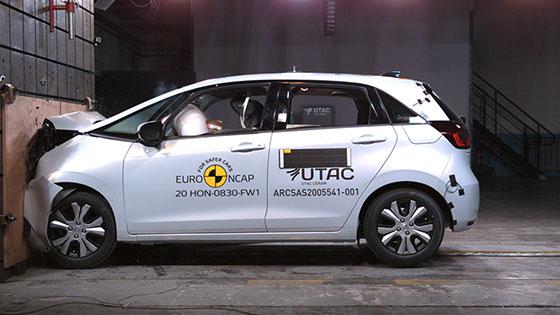 מבחני ריסוק NCAP 2020: הונדה ג'אז החדשה ומאזדה MX-30