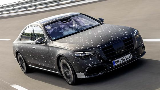 טכנולוגיה מתקדמת על גלגלים: החידושים הטכנולוגיים במרצדס S קלאס החדשה