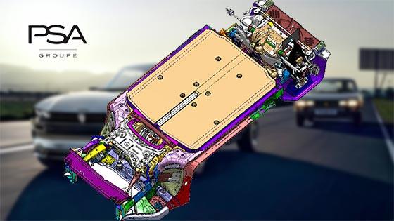 פלטפורמת eVMP: הפלטפורמה החדשה לרכבים חשמליים גודלים של קבוצת PSA