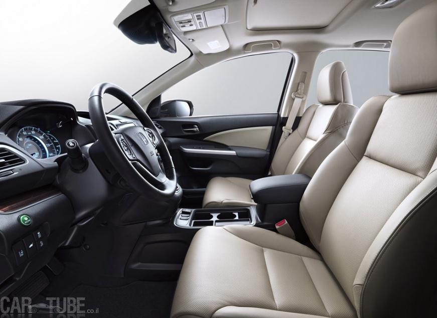 בלתי רגיל 2015 הונדה CR-V החדש בישראל – מחיר החל מ-169,990 שקל - cartube RV-01