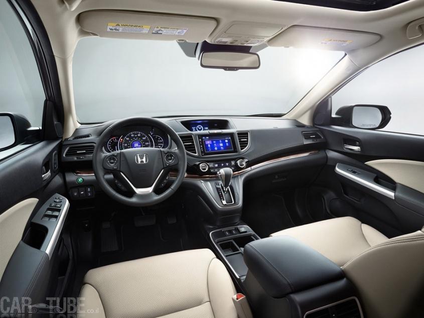 מאוד 2015 הונדה CR-V החדש בישראל – מחיר החל מ-169,990 שקל - cartube YE-22