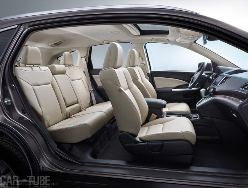 אולטרה מידי 2015 הונדה CR-V החדש בישראל – מחיר החל מ-169,990 שקל - cartube JA-06