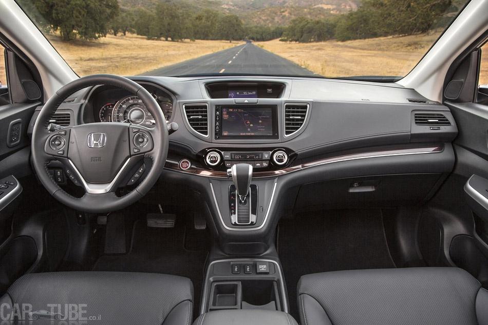 מגניב ביותר 2015 הונדה CR-V החדש בישראל – מחיר החל מ-169,990 שקל - cartube TR-18