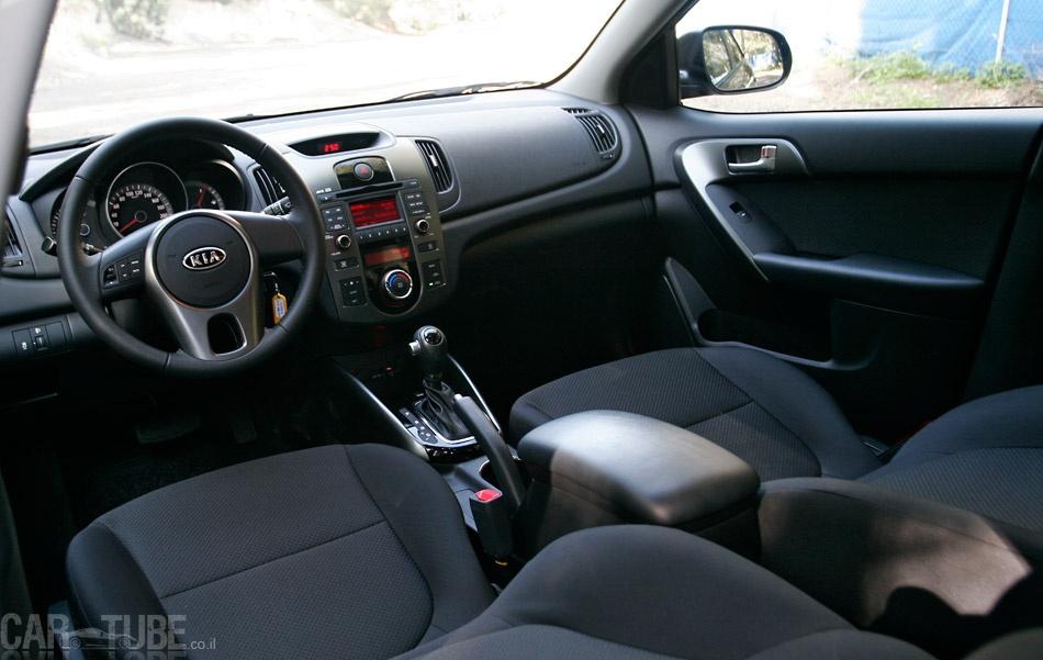 מיוחדים קיה פורטה 2011 : מבחן דרכים – משפחתית חסכונית - cartube AY-66