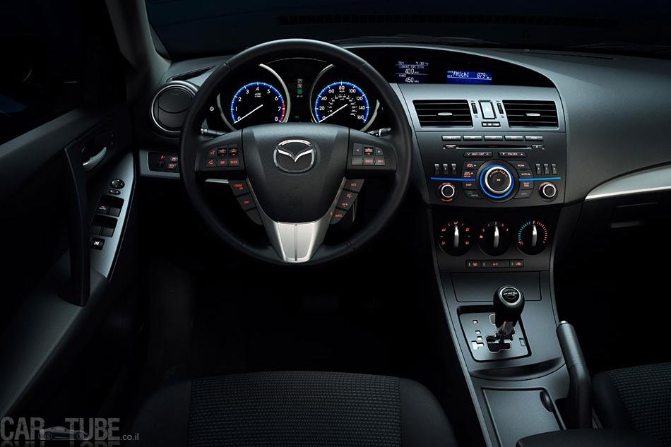 ניס מאזדה 3 2012 המחודשת – מנוע 2.0 SKY-G חדש - cartube UV-05
