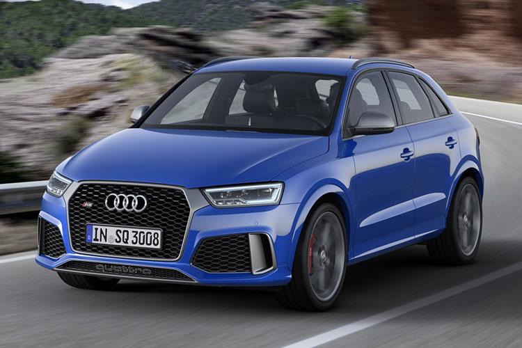 2016 אודי RS Q3 PERFORMANCE