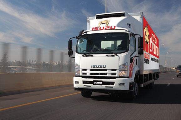 כולם חדשים איסוזו ישראל משיקה שירות השכרת משאיות - cartube OG-62