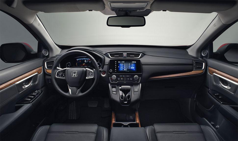 מבריק הונדה חושפת CR-V חדש לאירופה עם הנעה היברידית ומנוע 1.5 טורבו VO-09
