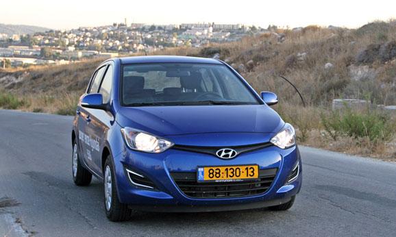 הוראות חדשות 2012 יונדאי i20 ידנית 1.2: מבחן דרכים – חסכונית ומשופרת - cartube RV-98