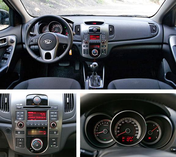 בלתי רגיל קיה פורטה 2011 : מבחן דרכים – משפחתית חסכונית - cartube QR-89