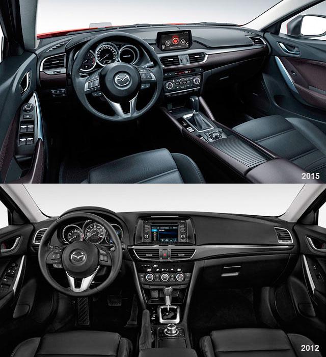 2010 Mazda Mazda6 Interior: מאזדה 6 ומאזדה CX-5 אחרי מתיחת פנים- וגם CX3 החדש- מותג